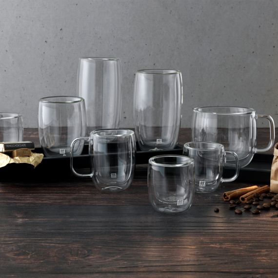 双立人 双层咖啡杯 2件套 200ml